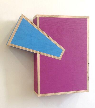 "G.T. Pellizzi, '""Transitional Geometry in Light Blue and Dark Magenta (Figure 38)""', 2017"
