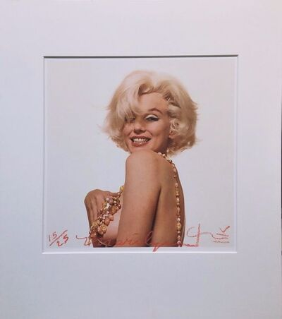 Bert Stern, 'MARILYN MONROE THAT FAMOUS SMILE', 2012
