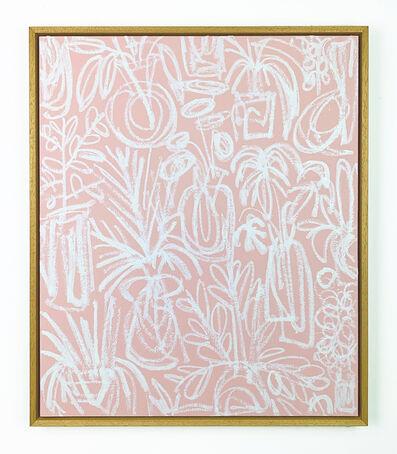 B.D. Graft, 'White on Pink', 2019