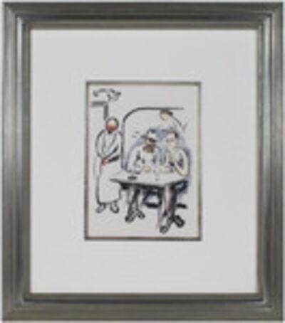Kees van Dongen, 'In the Cafe -La Garconne Series-', 1925