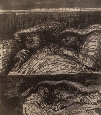 Henry Moore, 'Untitled XL (Shelter Sketchbook)', 1967