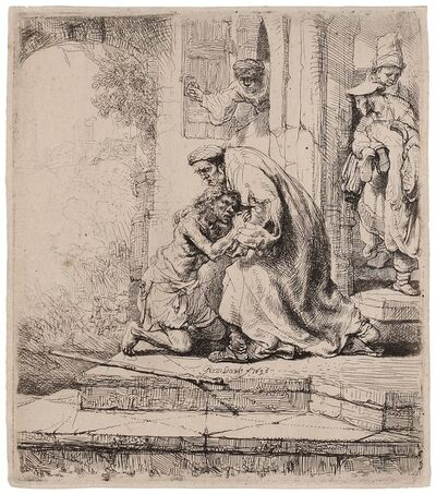 Rembrandt van Rijn, 'The Return of the Prodigal Son', 1636