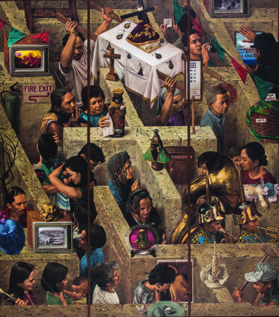 Alfredo Esquillo, 'Daang Ligid Krus', 1996