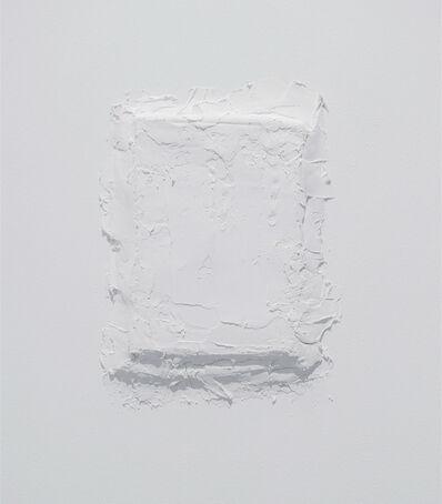 Charbel-joseph H. Boutros, 'Plaster, frame, printed plan', 2016