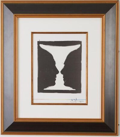 Jasper Johns, 'Cup 2 Picasso', 1973