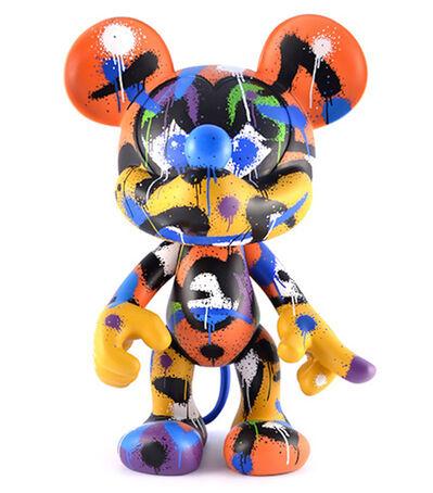 Mist, 'Mickey Figure', 2014