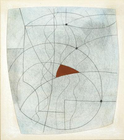 Ben Nicholson, 'Narure morte avec rouge', 1972