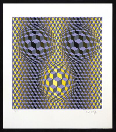 Victor Vasarely, 'Rikka', 1988