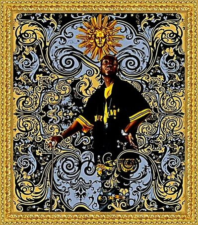 Kehinde Wiley, 'Andries Stilte, Beach Towel', ca. 2008
