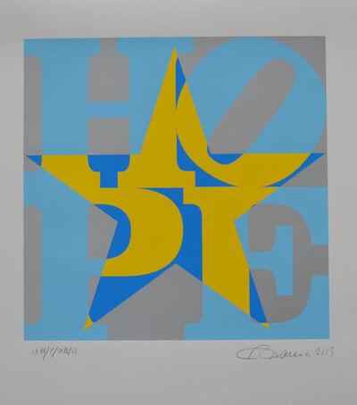 Robert Indiana, 'Star of Hope', 2013