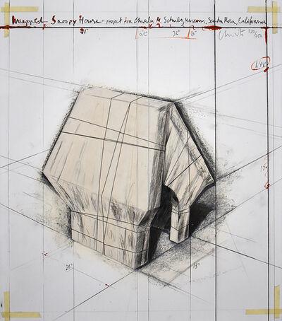 Javacheff Christo, 'Wrapped Snoopy House', 2004