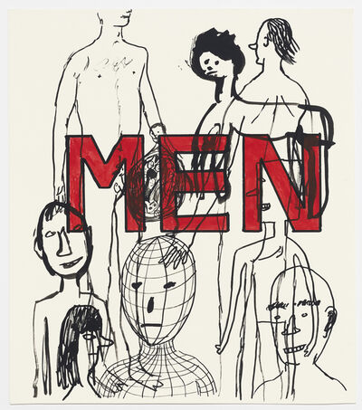 David Shrigley, 'Untitled (MEN)', 1999