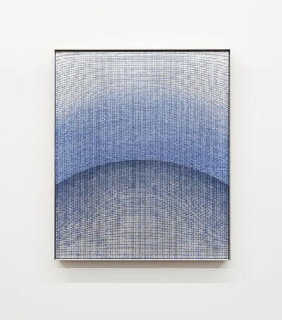 Mimi Jung, '091917 Blue Ellipses', 2020