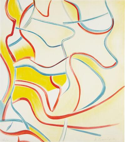 Willem de Kooning, 'Quatre Lithographies: one print', 1986