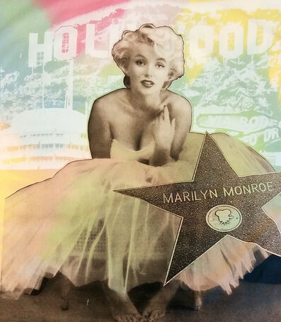 Steve Kaufman, 'Hollywood Marilyn', 1995-2005