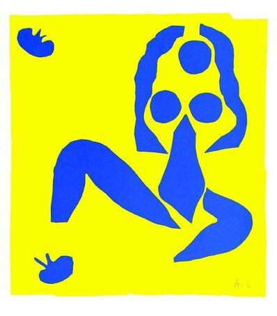 Henri Matisse, 'NU BLEU IV; ACROBATES', 1954