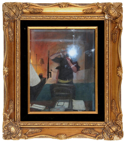 Ellen Harvey, 'Invisible Self-Portrait (framed): Philadelphia Hotel Room', 2007