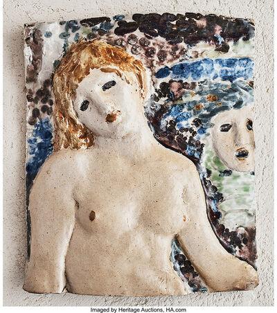 Henri-Edmond Cross, 'Female Plaque', circa 1893-1906