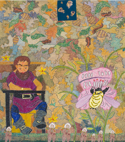 Joyce Kozloff, 'The Giant and the Bumblebee', 2017