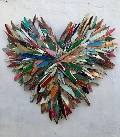 Eric Liot, 'Coeur de Sifnos', 2019