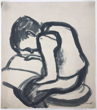 Will Barnet, 'Boy Reading', 1930