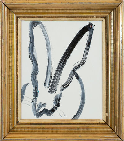 Hunt Slonem, 'White Bunny', 2018