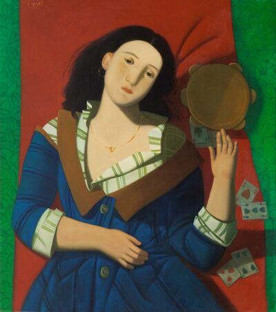 Afifa Aleiby, 'Gypsy Girl at Rest', 2010