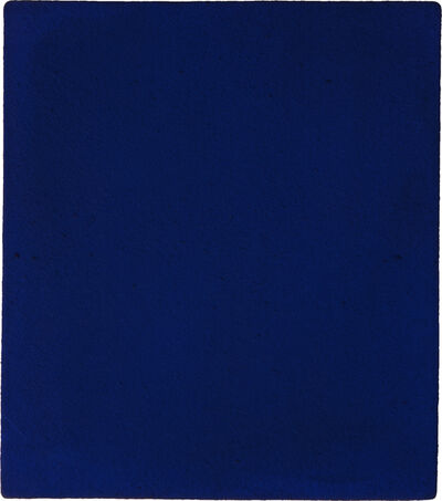 Yves Klein, 'Untitled blue monochrome (IKB 187)', 1960