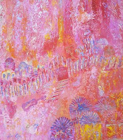 Orli Ziv, 'Jerusalem, pink', 2019