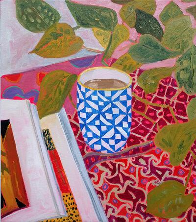 Anna Valdez, 'Quilt Pattern on Teacup', 2016