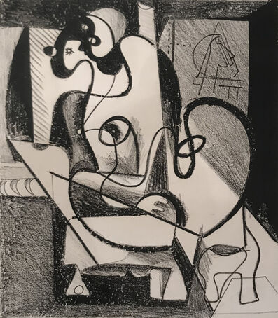 Arshile Gorky, 'Painter and Model (The Creation Chamber)', 1931