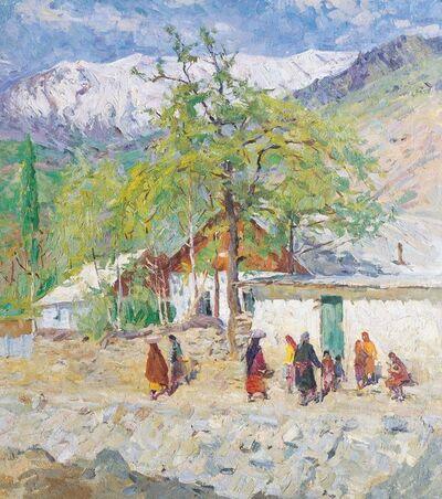 Sergey Mikhaylovich Skubko, 'Mountain school', 1975