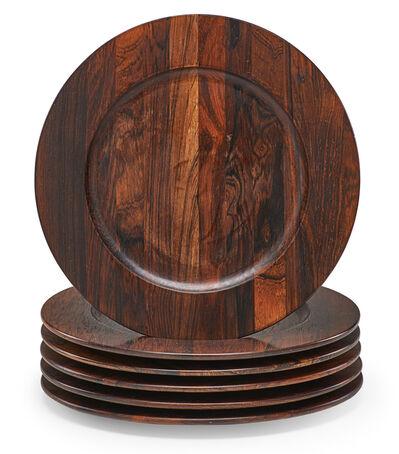 Jens H. Quistgaard, 'Jens Quistgaard For Dansk Rosewood Plates', 1960s