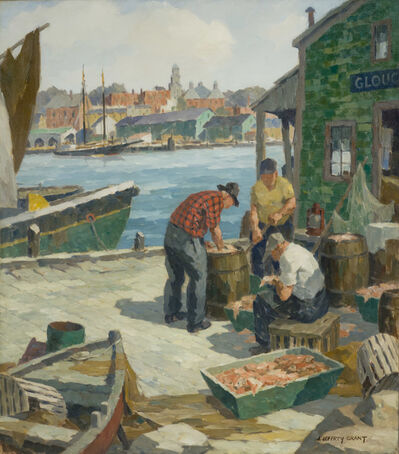 James J. Grant, 'After the Catch, Gloucester, Massachusetts'