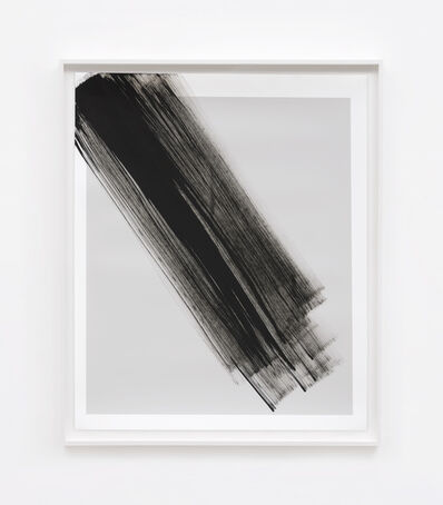 Phil Chang, 'Replacement Ink for Epson Printers (Matte Black on 25% Grey 222603) on Epson Enhanced Matte Paper', 2017