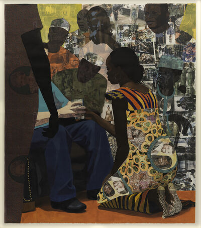 Njideka Akunyili Crosby, 'Wedding Portrait', 2012