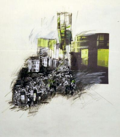 Grover Mouton, 'XiaoZhaZhen Street Scene, Shanghai'