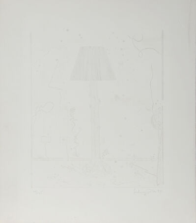 Ben Schonzeit, 'Lamps (White)', 1979