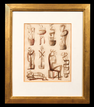 Henry Moore, 'Ideas for a Sculpture', 1939