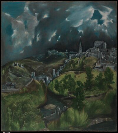El Greco, 'View of Toledo', ca. 1599–1600