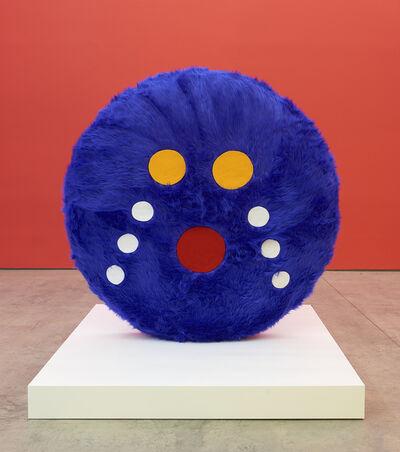 Misaki Kawai, 'Moko Moko (Blue)', 2020
