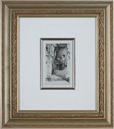 James Abbott McNeill Whistler, 'The Rag Gatherers Kennedy 23V', 1858