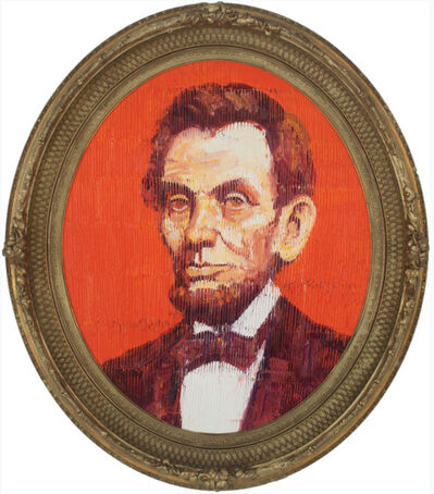 Hunt Slonem, 'Lincoln ', 2019