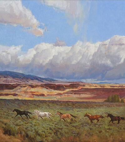 John Taft, 'Crowheart Run', 2017