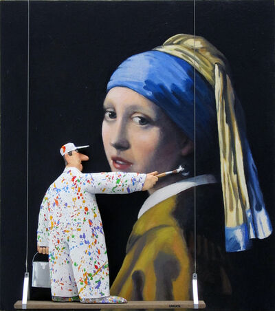 Stephen Hansen, 'The Girl with the Pearl Earring (Vermeer)', 2015