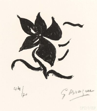 Georges Braque, 'Untitled (Page 17)', 1962
