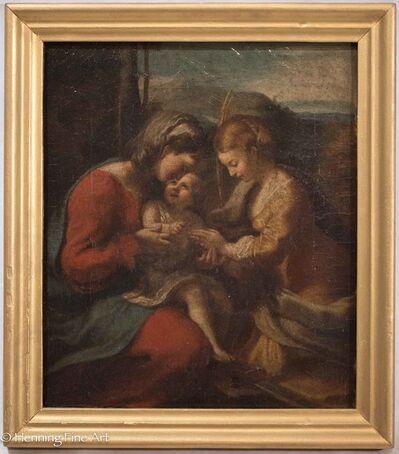 Correggio, 'The Mystic Marriage of Saint Catherine', ca. 1800