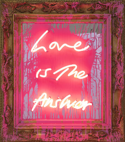 Mr. Brainwash, 'Love is the Answer', 2019