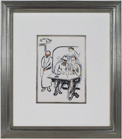 Kees van Dongen, 'In the Cafe -La Garconne Series- Dans le cafe', 1925