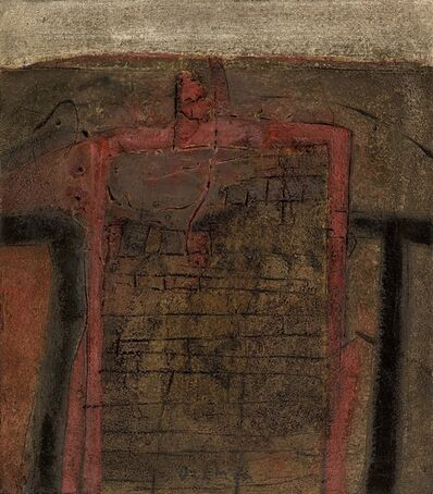 Karl Fred Dahmen, 'Ohne Titel (Grüße an M) ', 1965